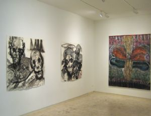 Experiment in Forecasting the Mood, 2012, general view, Chelouche Gallery, Tel Aviv