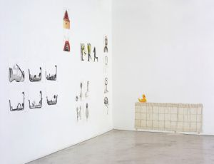 Private Space, 2007, installation view, Chelouche Gallery, Tel Aviv