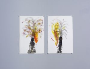 Untitled, 2006, Water color on paper, 38X25 cm each