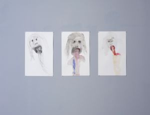 Untitled, 2006, Ink on paper, 34X24 cm each