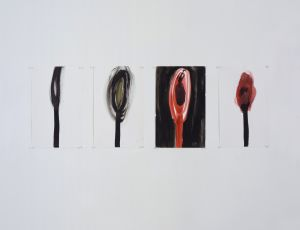 Untitled, 2002, Water color on paper, 40.5X30.5 cm each