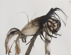 Untitled, 2006, Water color on paper, 25X38 cm