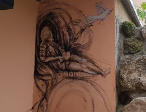 Site Specific Wall Painting....